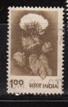 Sellos de Asia - India -  flor