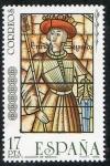 Sellos de Europa - España -  2817- VIDRERAS ARTISTICAS. ENRIQUE II , ALCÁZAR DE SEGOVIA.