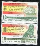 Stamps Spain -  2791/2-   II CENTENARIO DE LA BANDERA ESPAÑOLA.