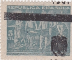 Stamps : Europe : Spain :  La Fragua de Vulcano