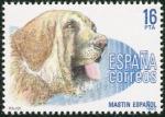 Stamps Spain -  Perros de raza epañola