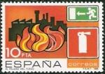 Sellos de Europa - España -  Prevención de accidentes laborales