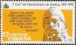 Stamps Spain -  V Centenario del Descubrimiento de América