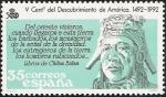 Sellos de Europa - España -  V Centenario del Descubrimiento de América