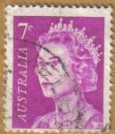 Stamps Australia -  Reina