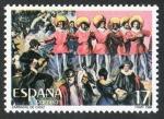 Sellos de Europa - España -  2840- GRANDES FIESTAS POPULARES ESPAÑOLAS. CARNAVAL DE CÁDIZ.