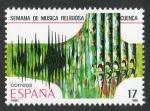 Sellos de Europa - España -  2841-  GRANDES FIESTAS POPULARES ESPAÑOLAS.  SEMANA DE MÚSICA RELIGIOSA DE CUENCA.