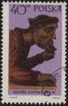 Stamps of the world : Poland :  RZEZBA LUDOWA  S. XIX