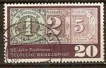 Sellos de Europa - Alemania -  125 años de sellos
