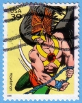 Stamps United States -  Hawkman