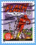 Stamps : America : United_States :  Flash