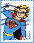 Stamps : America : United_States :  Supergirl