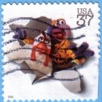 Stamps : America : United_States :  Gonzo - The Muppets
