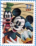 Stamps : America : United_States :  Mickey & Friends