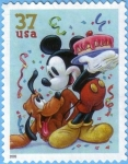 Stamps : America : United_States :  Mickey & Pluto