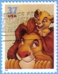 Stamps : America : United_States :  El Rey León