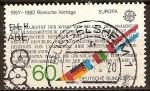 Sellos del Mundo : Europa : Alemania : Marca europea, 25 años- de contratos romanos 1957-1982.