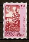 Stamps Indonesia -  Marina Nacional.