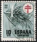 Sellos de Europa - España -  Protuberculosos