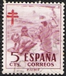 Stamps Spain -  Protuberculosos