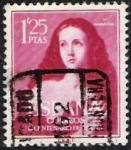 Stamps Spain -  III Centenario de Ribera El Españoleto