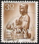 Stamps Spain -  Año Mariano