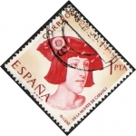 Stamps of the world : Spain :  IV Centenario de la muerte de Carlos I