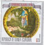 Stamps Equatorial Guinea -  Pascua 73