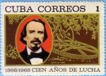Stamps Cuba -  Cien Años de Lucha