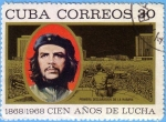 Sellos de America - Cuba -  Cien Años de Lucha