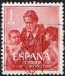 Sellos de Europa - España -  III Centenario dela muerte de San Vicente de Paul