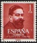 sellos de Europa - España -  I Centenario del nacimiento de Isaac Albéniz