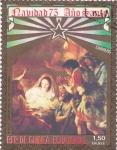 Sellos de Africa - Guinea Ecuatorial -  Navidad 75 Año Santo