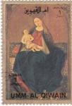 Stamps United Arab Emirates -  umm-al-qiwain