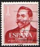 sellos de Europa - España -  I Centenario del nacimiento de Juan Vázquez de Mella