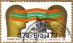 Stamps America - Brazil -  Ministerio de Comunicaciones BRASILIA DF