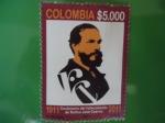Stamps Colombia -  Rufino José Cuervo - Centenarios del fallecimiento, 1911-2011.(Pintor N.Vanegas)