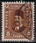 Stamps Egypt -  Scott  194  Rey Fuad
