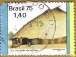 Stamps America - Brazil -  OCA INDIGENA -RONDONIA