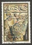 Stamps Spain -  2162 - Navidad, Capitel del Monasterio de Silos en Burgos