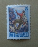 Stamps Russia -  Escalador de Montaña.