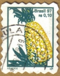 Stamps America - Brazil -  ABACAXI - PIÑA