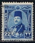 Stamps Egypt -  Scott  251  Rey Farouk (6)