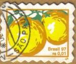 Sellos de America - Brasil -  LARANJA - NARANJA