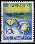 Stamps Africa - Namibia -  Minerales preciosos