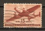 Sellos de America - Estados Unidos -  Bimotor.