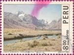 Sellos de America - Perú -  Paisajes del Perú: Laguna Querococha - Cordillera Blanca - Ancash.