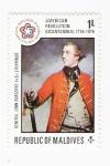 Stamps Asia - Maldives -  General  Jhon Burgoyne