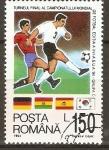 Stamps : America : Romania :  CAMPEONATO  MUNDIAL