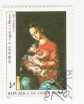Stamps Africa - Guinea Bissau -  Virgen  e o Menino